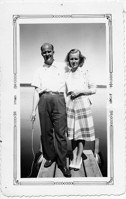 Gordon (Gordy) Whowell married Jean Trojan in July 1939. It was Jean who wanted to move their young family to Fontana full-time in the mid-1940s.