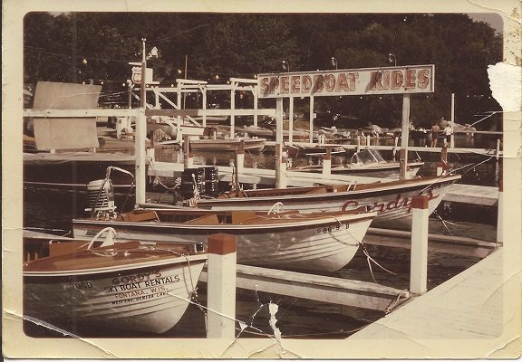Gordy's speedboat rides cost just $1 in the 1950s and were so popular that soon the business was offering boat rentals.