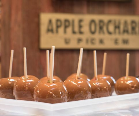 Caramel apples are just one of the many ways to enjoy your freshly picked apples.