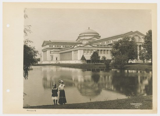 Field Museum of Natural History in Jackson Park, Chicago, Illinois, circa 1915.