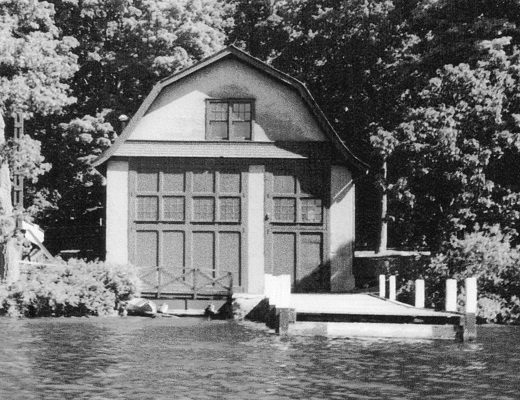 Green Gables (Wrigley) Boathouse