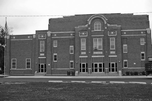 Lake Geneva High School (the Denison portion of today's Central-Denison Elementary School)