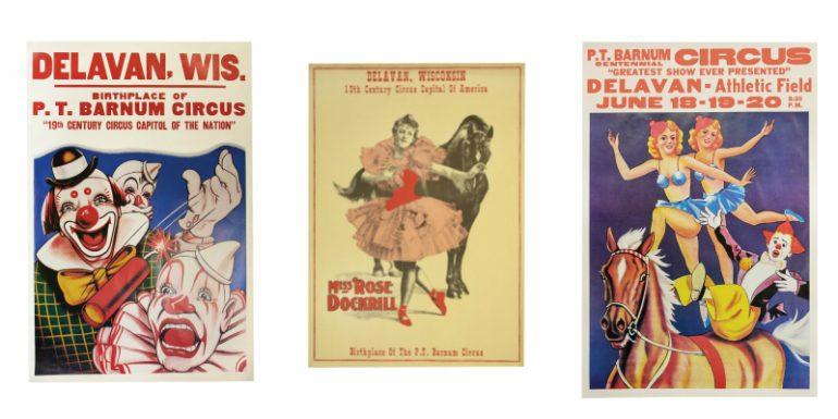 Delavan circus history