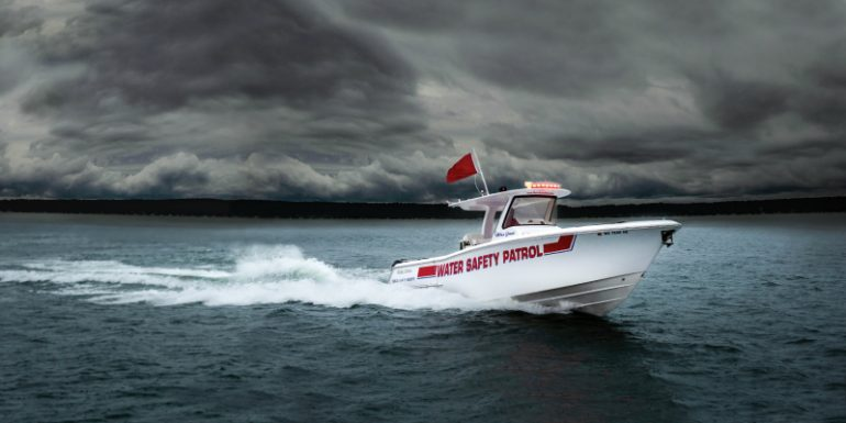 Tragic Fishing Accident In Lake Geneva >> Running The Reds Geneva Lake Water Safety Patrol At The Lake