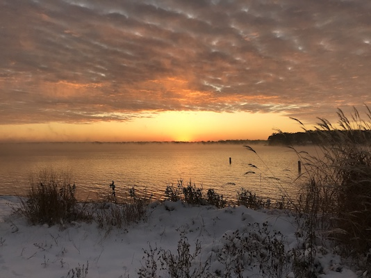 Delavan Lake at View Crest Association Beach - Lori Johnson
